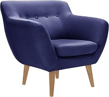 Alaric Chair Isabelline Upholstery Colour: Dark