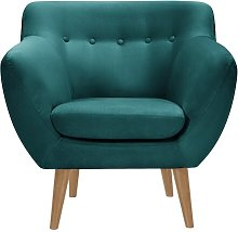 Alaric Chair Isabelline Upholstery Colour: Forest