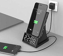 Alarm clock Alarm Clock With Wireless Charging