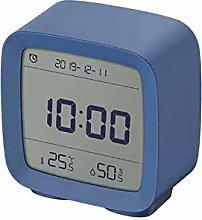 Alarm Clock APP Control Thermometer Hygrometer LCD