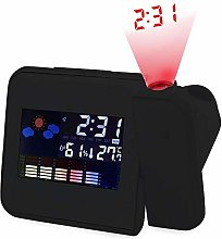 Alarm Clock Battery Powered LED With Projection