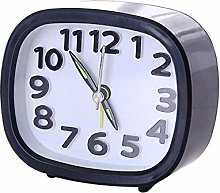 Alarm Clock Battery Powered Rectangle Small
