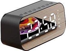 Alarm Clock Bedside With Speaker Snooze Function,