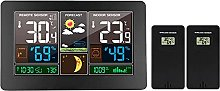 Alarm Clock Digital Weather Station,Modern 3