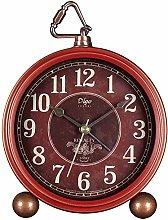 Alarm Clock for Bedroom Vintage Round Alarm Clock