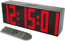 Alarm Clock Large LED Account Wall Clock Timer