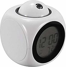 Alarm Clock LCD Projection Voice Talking Alarm,
