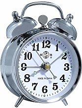 Alarm Clock Mechanical Wind Twin Bell Double Bell