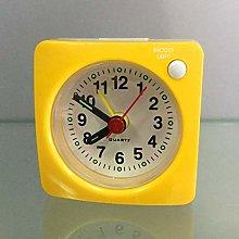 Alarm clock Mini Square Bedside Silent Sweep Alarm