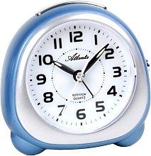 Alarm Clock Quartz Analogue, Sweep without
