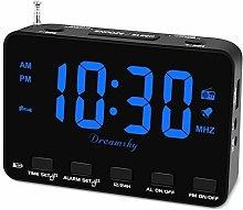 Alarm Clock Radio for Bedroom, Digital Alarm Clock