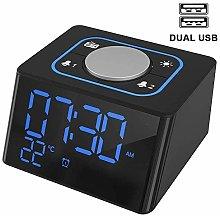 Alarm Clock Radio, PingPIN Digital LED Alarm