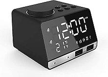 Alarm Clock Radio, With Bluetooth Speaker, Alarm