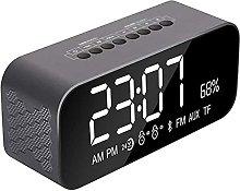 Alarm Clock, With Fm Radio Clocks, Mirror Hd Led