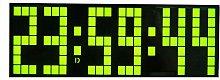 Alarm LED (6 Digits, 7 Segments) Wall Clock Mute