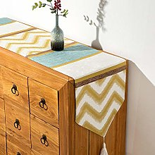 Alayth Table Bedding Mat Accessories Color Striped