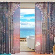ALAZA Arabian Interior Design Moroccan Door Voile