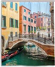 ALAZA Canal Bridge Scenic Venice Italy Shower