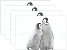 ALAZA Emperor Penguin Chicks Non Slip Heat