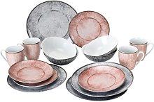 Alba 16 Piece Dinnerware Set, Service for 4