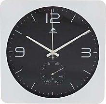 Alba Clock, White, 30 x 30 x 4,4 cm