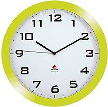 Alba Horissimo Large Silent Clock green