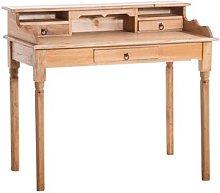 Alban Desk Beachcrest Home Colour: Beige