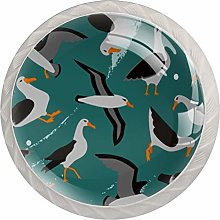 Albatros Birds Pattern   Modern Minimalist