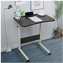 ALBBMY Mobile Desk Mobile Lap Table With Card Slot