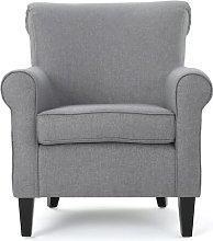 Alberta Armchair Three Posts Upholstery Colour: