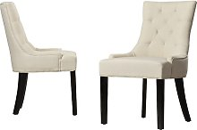 Albertina Upholstered Dining Chair Three Posts