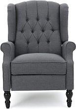 Albertine Manual Recliner Three Posts Upholstery