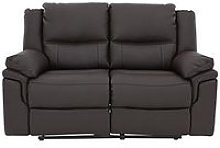 Albion Luxury Faux Leather 2 Seater Manual