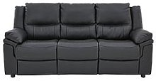 Albion Luxury Faux Leather 3 Seater Sofa