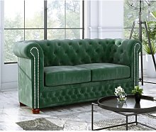 Alcide 2 Seater Chesterfield Sofa Ophelia & Co.