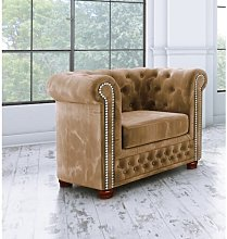 Alcide Chesterfield Chair Ophelia & Co. Upholstery