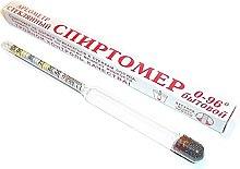 ALCOHOLMETER (Alcohol 0-96°) Spirtometer,