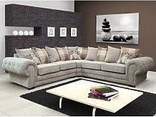 Alcrossagh Corner Sofa Three Posts Upholstery: