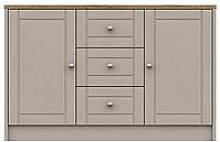 Alderley Large Ready Assembled Sideboard - Rustic