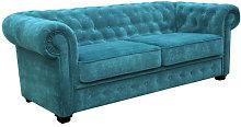 Alderwood 2 Seater Chesterfield Sofa Bed Three