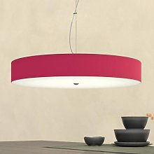 Alea Hanging Light Large Ruby Red