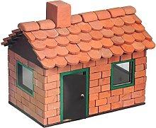 ALEA Mosaic Brick Building Set, Leo house with