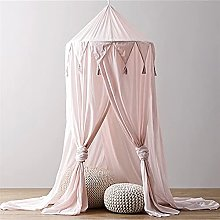 ALEIGEI Canopy Bed Curtains Cotton Kid Baby Bed
