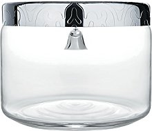 "Alessi ""Dressed Cookie Jar in Glass Lid in"