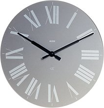 Alessi 12 G wall clock - wall clocks (Grey, ABS
