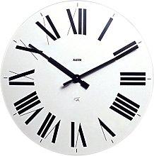 Alessi 12 W wall clock - wall clocks (White, ABS