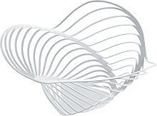 Alessi 12 x 26 cm Trinity Citrus Basket, White