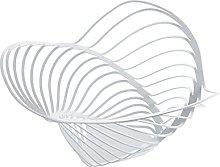 Alessi 16.50 x 33 cm Trinity Citrus Basket, White