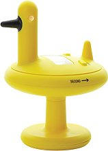 Alessi 9.8 x 13 cm Duck Timer Kitchen Timer, Yellow