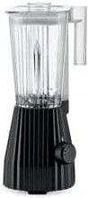 Alessi - Black Plisse Electric Blender with UK Plug